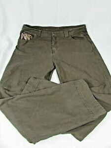 Legendary Outdoor Hunting Brown Camo Accents Jeans sz 40x34