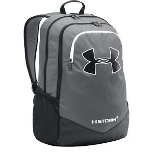 Under Armour Boy's Storm Scrimmage Backpack School Bag Graphite $26.95