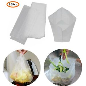 30Pcs Disposable Kitchen Drain Bags Residue Collector Sink Strainer Filter Bags