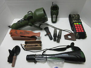 GAME CALLS - LARGE LOT - PRIMOS POWER DOGG THE PHANTOM BULLET BUGLE EASTMANS