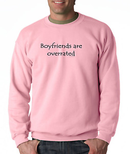Long Sleeve T shirt Unique Boyfriends are overrated over rated teen girl $24.71