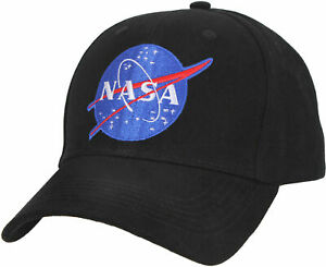 NASA Baseball Hat Meatball Official Space Logo Embroidered Adjustable Dad Cap $11.99