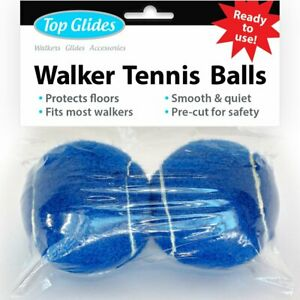 Ready To Use Tennis Balls For Walkers Pre Cut W Glides Floor Carpet Protection