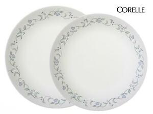 Corelle COUNTRY COTTAGE Choose: DINNER or LUNCH PLATE *Blue Hearts Green Vines