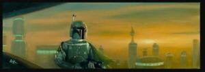 ACME ARCHIVES STAR WARS GICLEE CANVAS ROB KAZ quot;BESPIN BOUNTY HUNTERquot; BOBA FETT $249.99