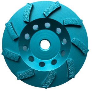 10-Pack 4-1/2 Inch Turbo Cup Wheels Grinding Concrete,Masonry,5/8