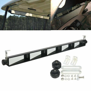 5 Panel Golf Cart Wink Mirror Universal Rear View Wide For EZGO Club Cars Yamaha