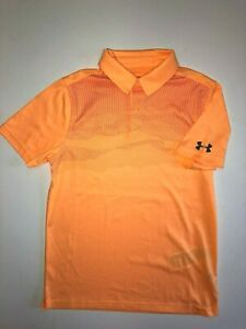 Under Armour New Boys Airlift Golf Polo Shirt Youth Boys Size Medium 2195