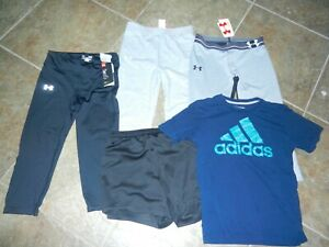 Lot of girls athletic clothing Under Armour, Nike, Adidas Youth XL $60.00