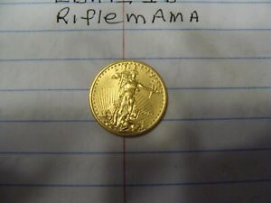 $5 Walking Liberty gold coin dated 1899
