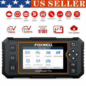 Automotive Full System Scanner Car Diagnostic Tool Airbag ABS Oil Service Reset