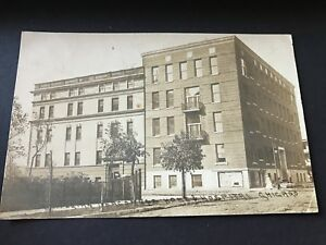 Norwegian Lutheran Deaconess Home and Hospital Chicago Building RPPC