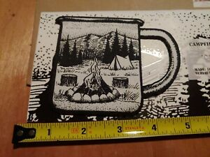 Campfire Coffee Club Embroidered Morale Patch