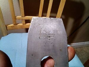 Antique Auburn Tool Co. Tapered Iron for Plane, 2 3/8