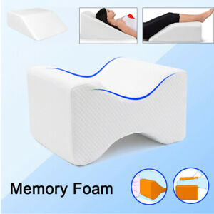Wedge Support Elevating Pillow for Leg Back Lumbar Knee w/Cover Bedding