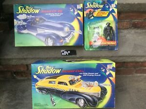 Lot The Shadow Kenner Movie  Mirage Thunder Cab Figures Vehicles Bullet-Proof