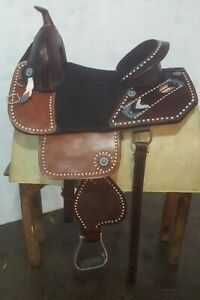 Leather Trilluxe Saddle 17