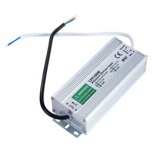 Waterproof LED Driver 100W 8.5A 12 v volt IP67 power supply transformer outdoor
