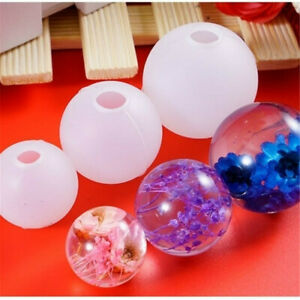 DIY Epoxy Mold Necklace Pendant Star ball Silicone Mould Resin Mold Cosmic ball