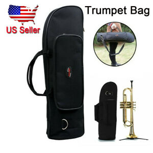 Durable Senior Trumpet Gig Bag Carry Case High Quality Slap-up Box  Black