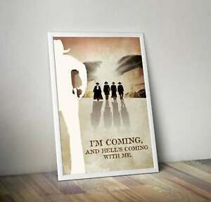 Tombstone Movie inspired Art Print Movie Poster