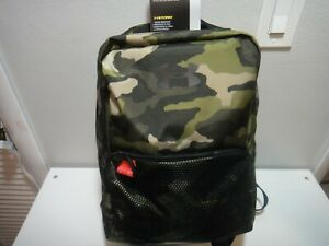 Under Armour Boys Strom Select BackPack D-Ring Reflective details Camo