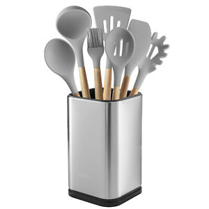 Stainless Steel Kitchen Utensil Holder, Kitchen Caddy, Utensil Organizer, Modern