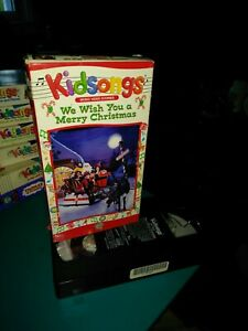 Kidsongs-We Wish You a Merry Christmas VHS 1992-