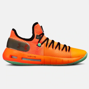 New Under Armour UA HOVR Havoc Low Basketball Shoes - Orange(3020618-602)
