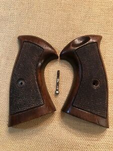 Vintage Sile Target Grips - Smith & Wesson N Frame Square Butt - Great color!