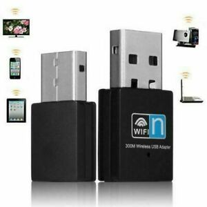 USB Wifi Adapter Dongle Wireless Internet Receiver PC Laptop Wifi Connect Stick