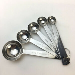 Stainless Steel Measuring Cups & Measuring Spoons 13 pc set 7 Cups & 6 spoons