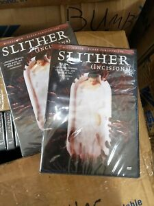 Lot of 20 Slither Incisions DVD Brand New, GREAT DEAL, TRUE CLOSEOUTS!