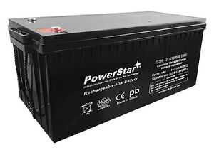 PowerStar replaces Mighty Max Sealed Lead-Acid Battery - AGM-type 12V 200 Amps