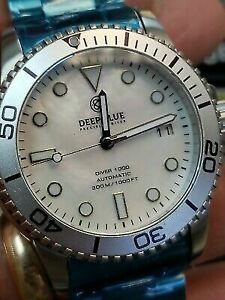 New Deep Blue 40MM. Master 1000300FT Automatic Silver BMother