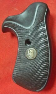 Pachmayr black rubber COMPACT grips S&W K frame round butt Smith & Wesson 10  19