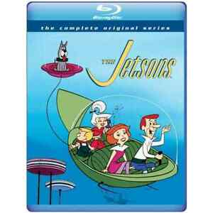 The Jetsons: The Complete Original Series 1962 1963 Blu ray 3 Disc Set New $27.95