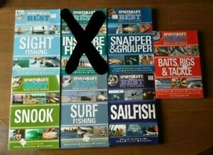 Choose 2: Sportman#x27;s Best Fishing Guide Books with DVD