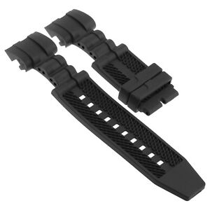 Strapsco Silicone Rubber Watch Band for Invicta Reserve Bolt Zeus