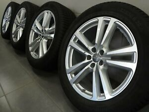 20 Inch Winter Tires Original Audi Q7 SQ7 4M S DESIGN Rims 4M0601025G (F71)