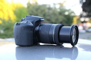 MINT Canon 60D 18.0 MP Digital Camerwith 75 300mm and 18 55mm IS LENS 4 LENSES