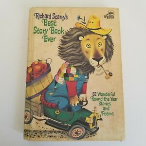Vintage 1968 Richard Scarrys Best Story Book Ever 82 Wonderful Stories and Poems
