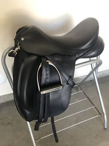 2015 Custom Saddlery Custom Advantage Monoflap 17.5 Med Tree Very Good Condition