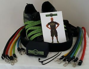 TRUE FORM TRAINING SYSTEM Resistance Bands Muscle Training Fitness + Manual