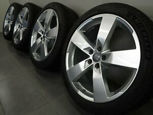 20 Inch Winter Tires Original Audi A6 S6 C8 4K 5-Arm Design Rim 4K0601025K