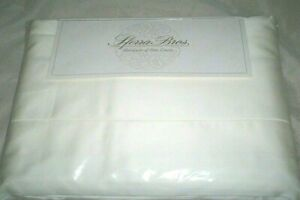 Ivory QUEEN Sheet Set 600TC 100% EXTRA LONG STAPLE Cotton Sateen Sferra Allegro