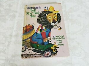 Richard Scarry's Best Story Book Ever 82 Stories Pierre Bear Storybook Vintage