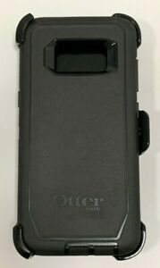 OtterBox Defender Rugged Case wHolster Belt Clip For Samsung Galaxy S8 Black