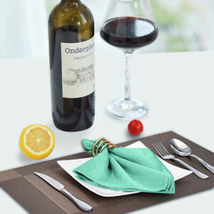 10pcs Dinner Napkins Cloth Napkins Perfect Table Napkins for Dinners,Hotel, Wedd