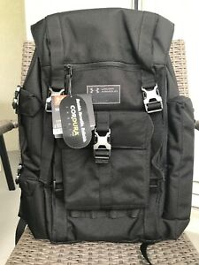 🔥UNDER ARMOUR UA REGIMENT CORDURA BLACK BACKPACK NWT UA STORM  RARE